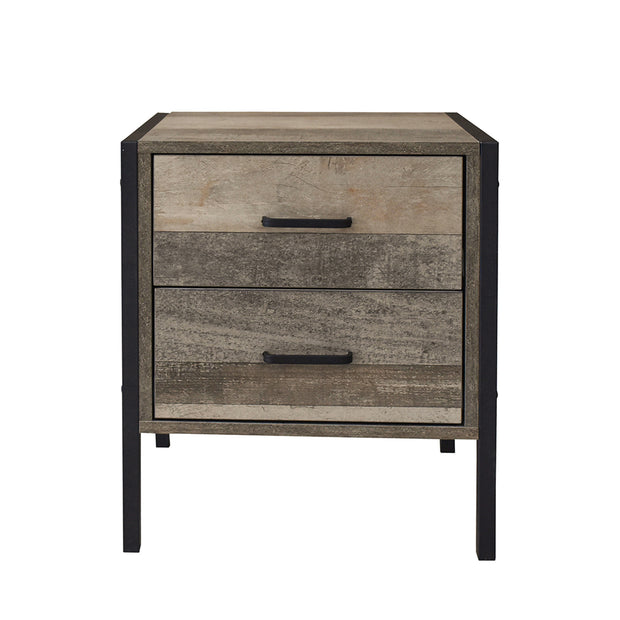 Milano Decor Palm Beach Bedside Table