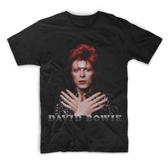 David Bowie - Ziggy 1973 Black Tee