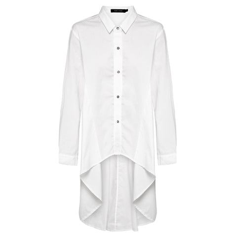 Abey Shirt White Chalk