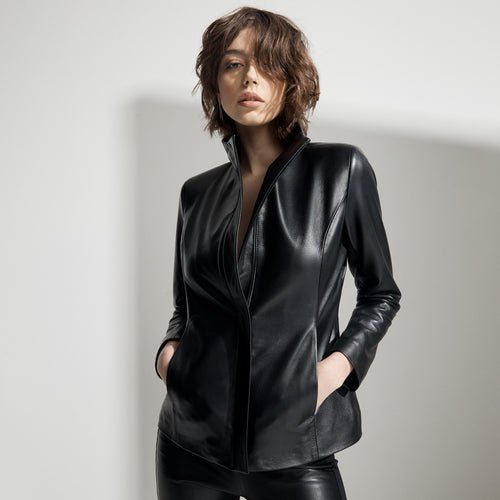 Adeline Jacket - Jet Black
