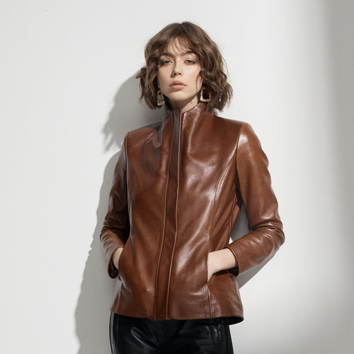 Adeline Jacket - Wood
