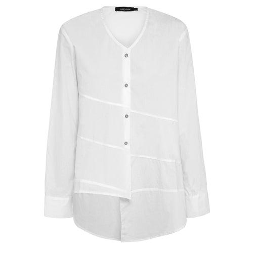 Ava Shirt - White Chalk