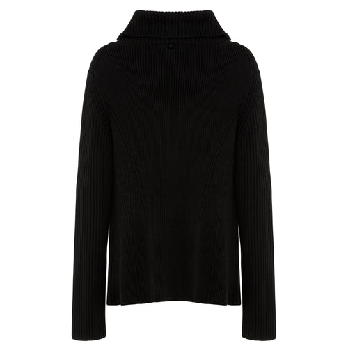 Breanna - Ribbed Zip Trim Knit