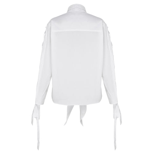 Entanglement Shirt - Chalk White