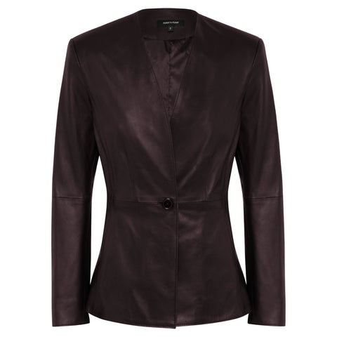 Dakota Leather Blazer