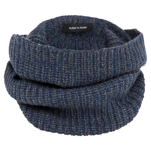 Mischa Ribbed Snood - Liquorice