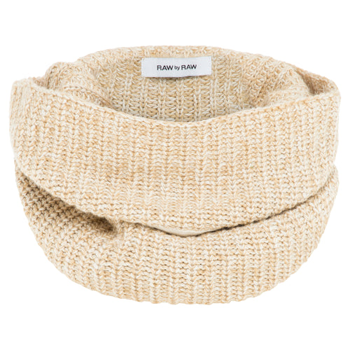 Mischa Ribbed Snood - Nougat