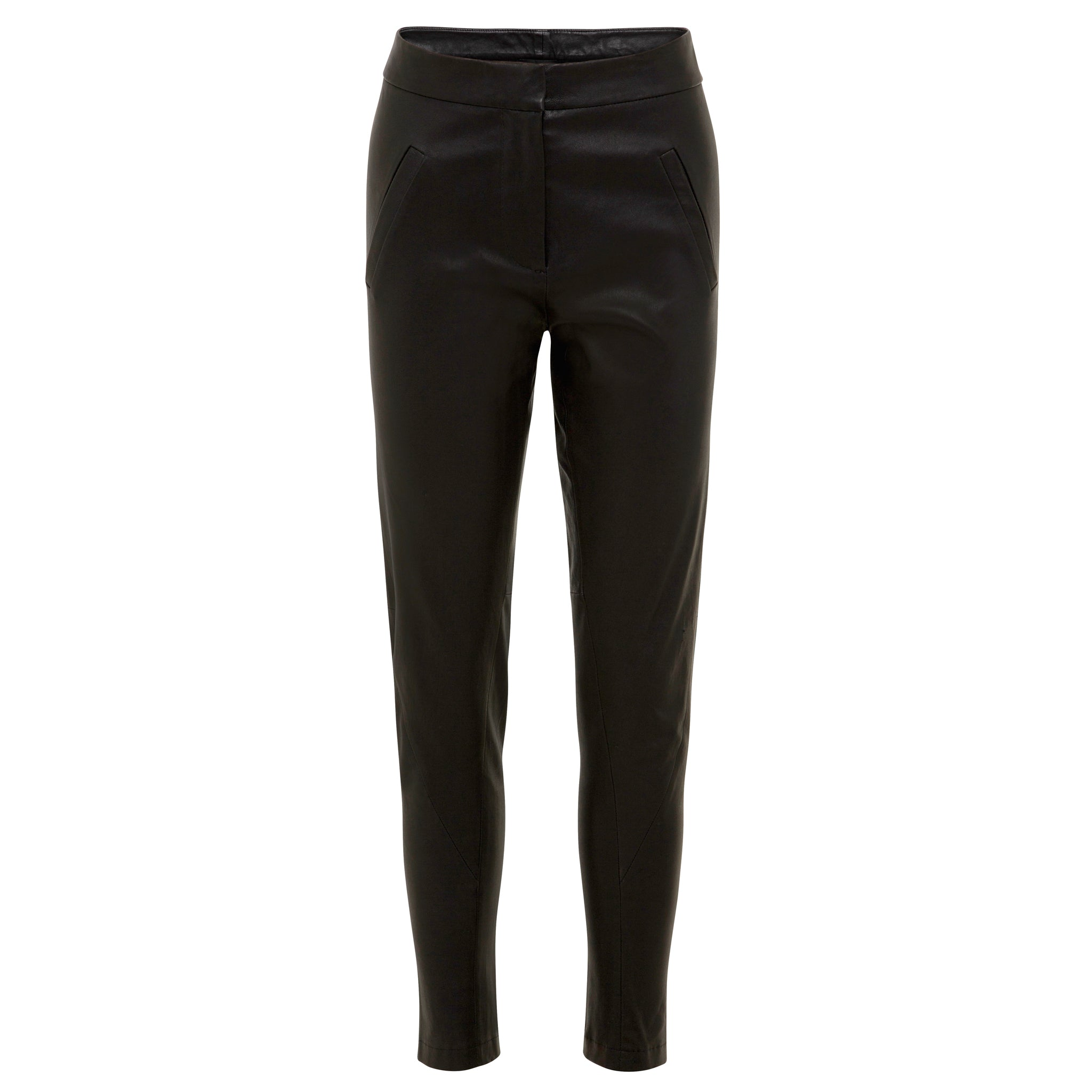 Morgan Stretch Leather Pant