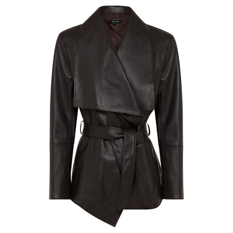 Grace Coat  - Jet Black