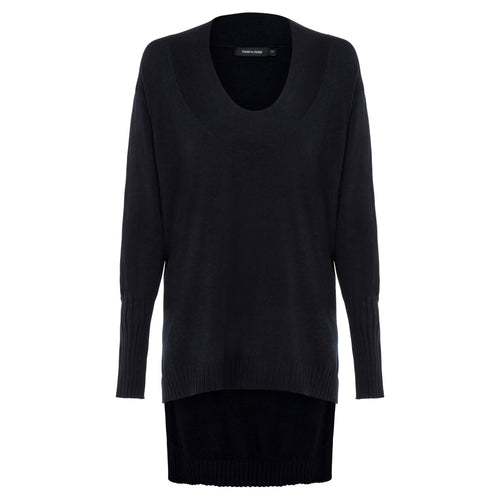 Andrea - Navy Knit