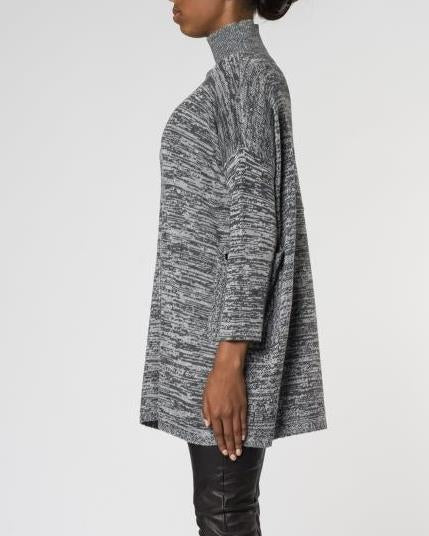 Sissley Knit - Salt & Pepper