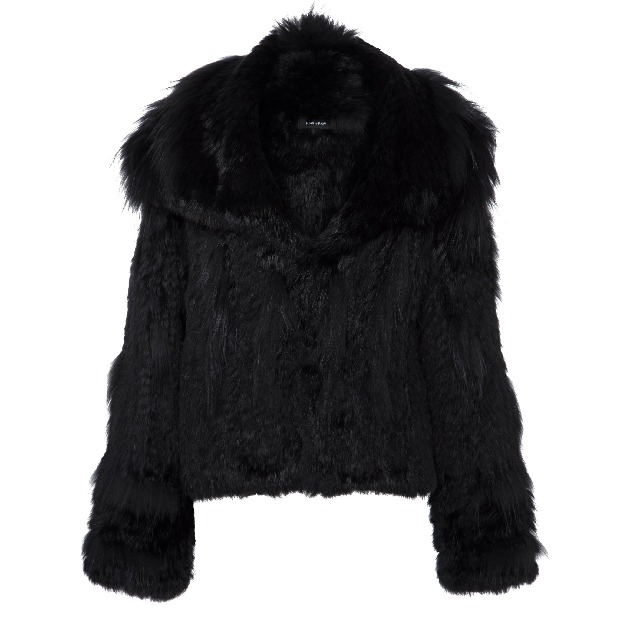 Vermont Fur Jacket - Jet Black