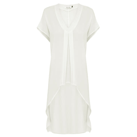 Cancun Tunic - White Chalk