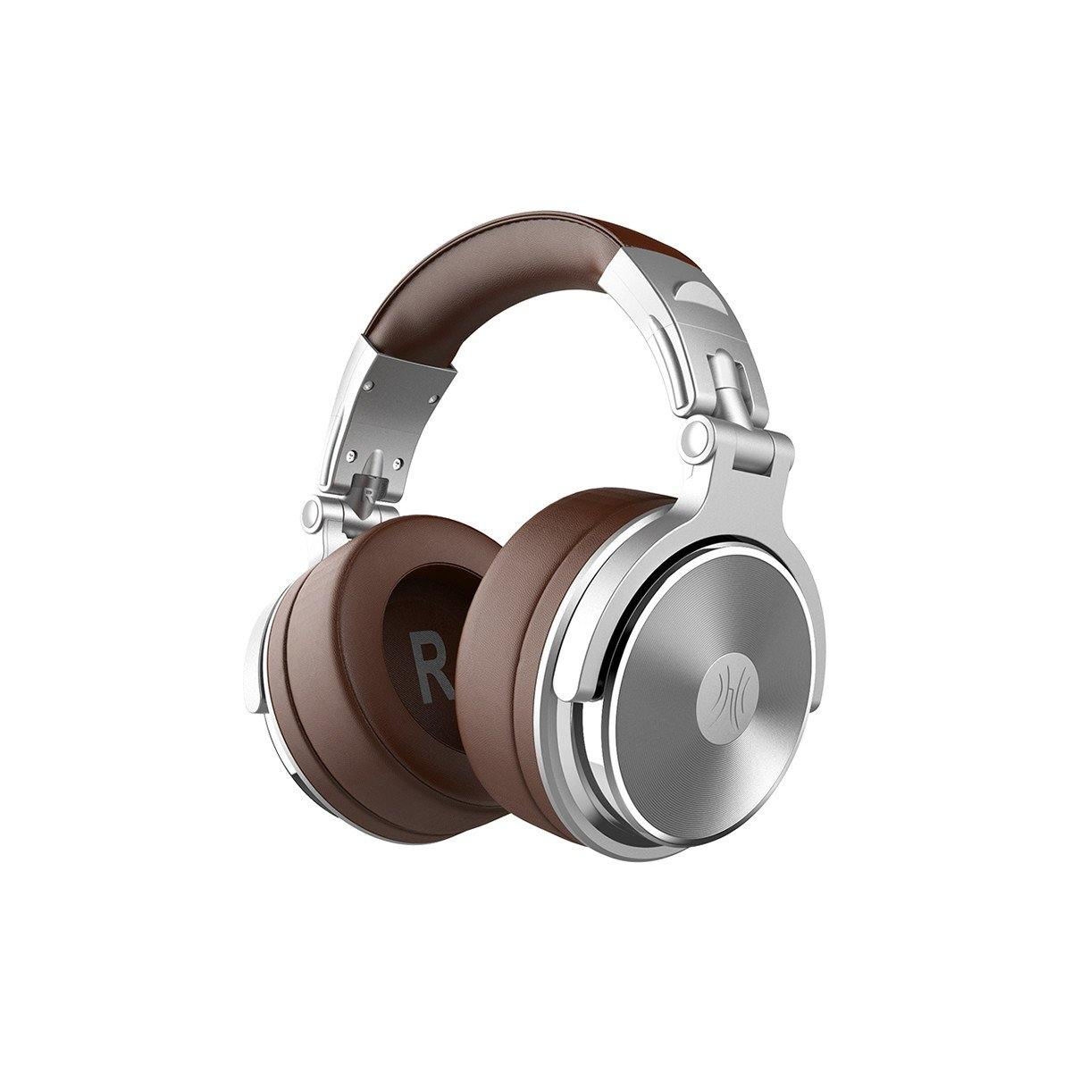 OneOdio® Pro-30 Studio Wired Headphones (Silver) - OneOdio