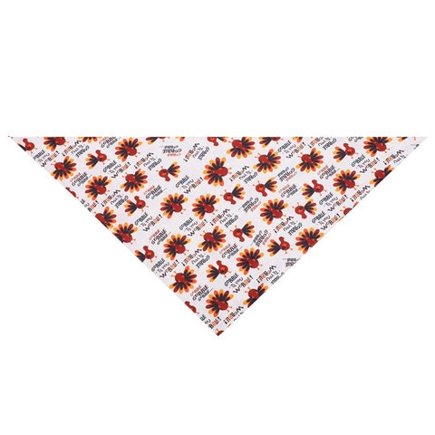 Thanksgiving Turkey Dog Bandana