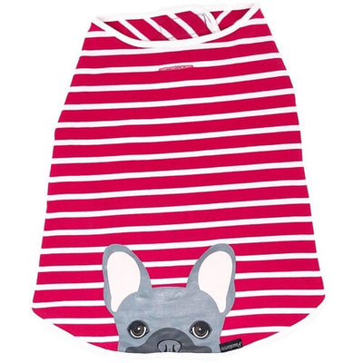 Pink & Grey  Frenchie Hypoallergenic Shirt