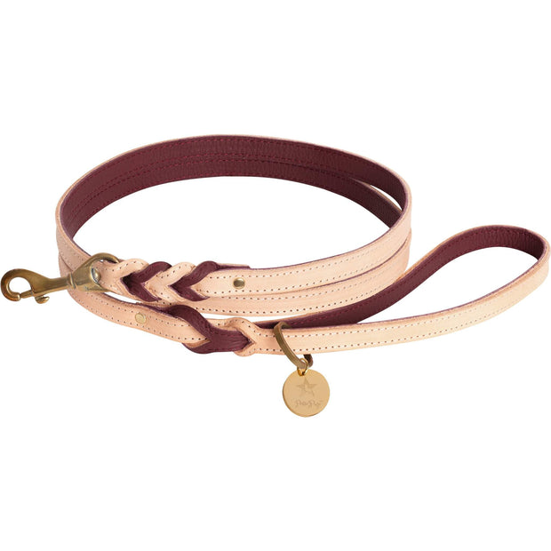 Luscious Bow- Italian Leather Collar