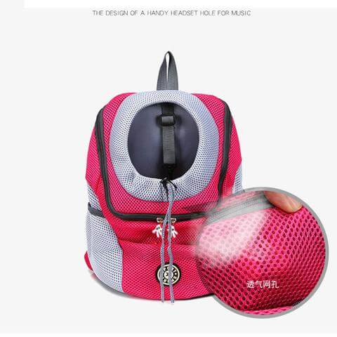 Portable Mesh Pet Carrier