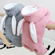 Rabbit Hoodie Dog Sweater