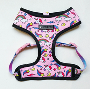 Pink Unicorn Dog Harness