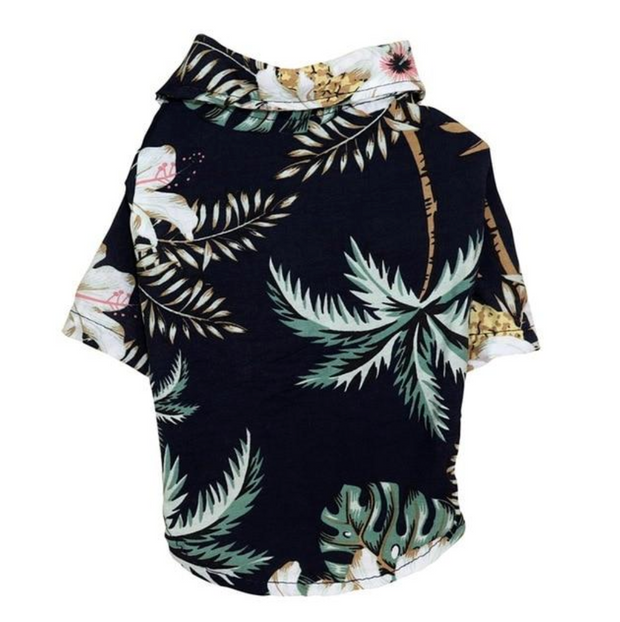 Pineapple Breeze & Palm Island Hawaiian Dog Shirt