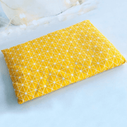 Yellow Star Pet Bed