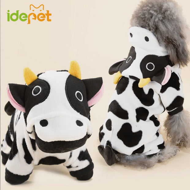 Cow Hoodie Sweater