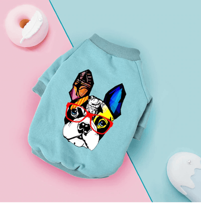 Teal Frenchie Sweatshirt