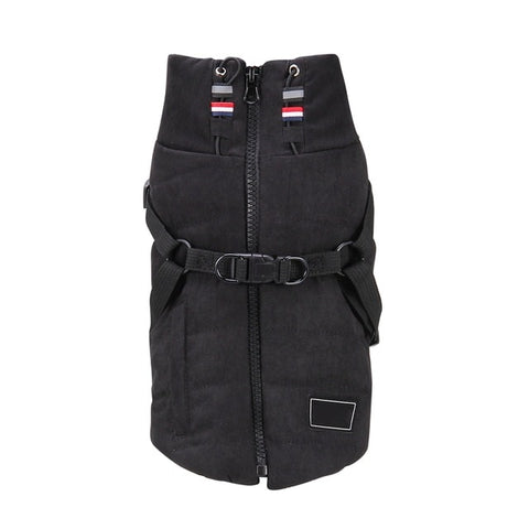 Black Forest Puffer Harness Jacket