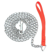Red Dog Chain Leash with Clip