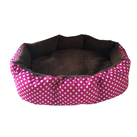 Soft Plush Nest Pet Bed