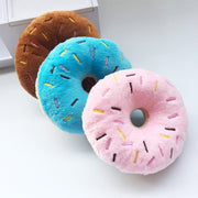Squeaky Plush Dog Sprinkle Donut