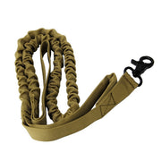 Tactical Military Police Dog Training Leash Elastic Pet Collars