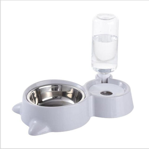 Dog Bowl & Automatic Water Dispenser