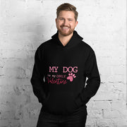 'My Dog is my Valentine'- Unisex Hoodie