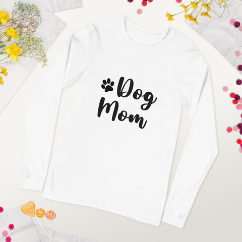 Unisex Dog Mom Long Sleeve Tee