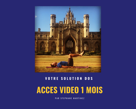 ACCES VIDEO 1 MOIS