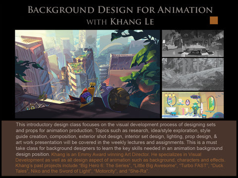 Background Design for Animation with Khang Le