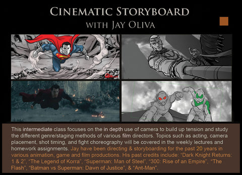 25 Cinematic Storyboard (FRI) with Jay Oliva