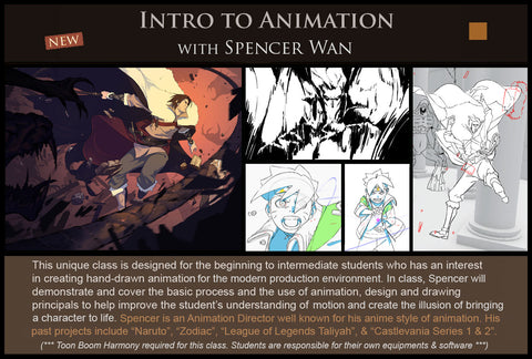 13 Intro to Animation with Spencer Wan