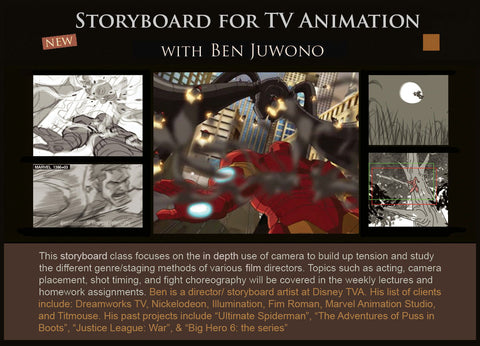 Storyboard for TV Animation with Ben Juwono