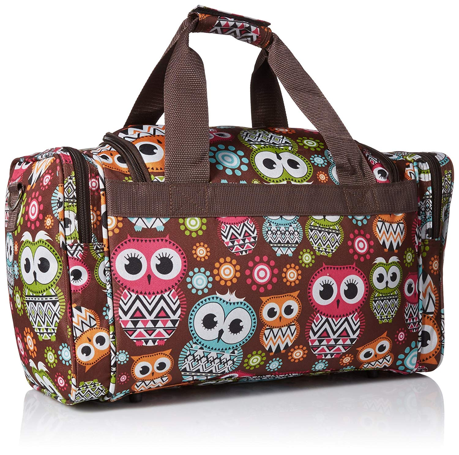 c69a9584b400 Rockland 19 Inch Tote Bag, Owl, One Size