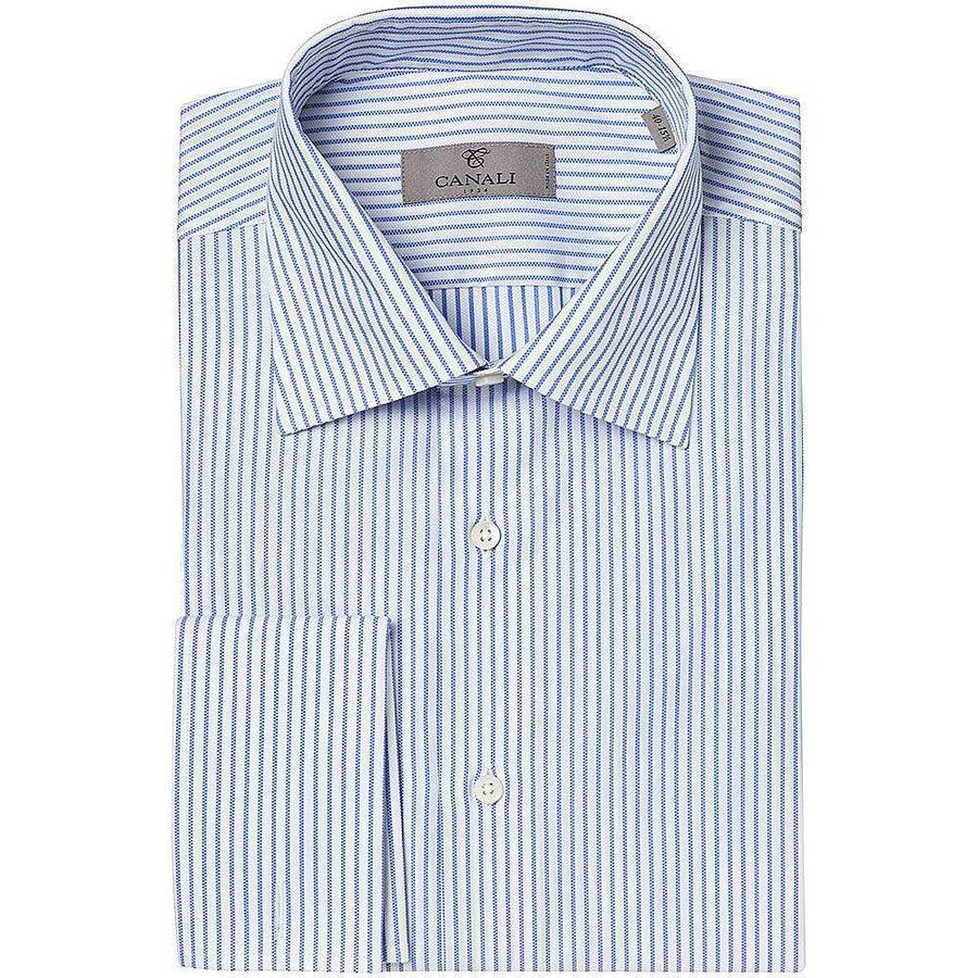 Canali Oxford Stripe Shirt