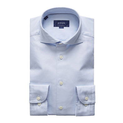 ETON BLUE & WHITE STRIPE SHIRT