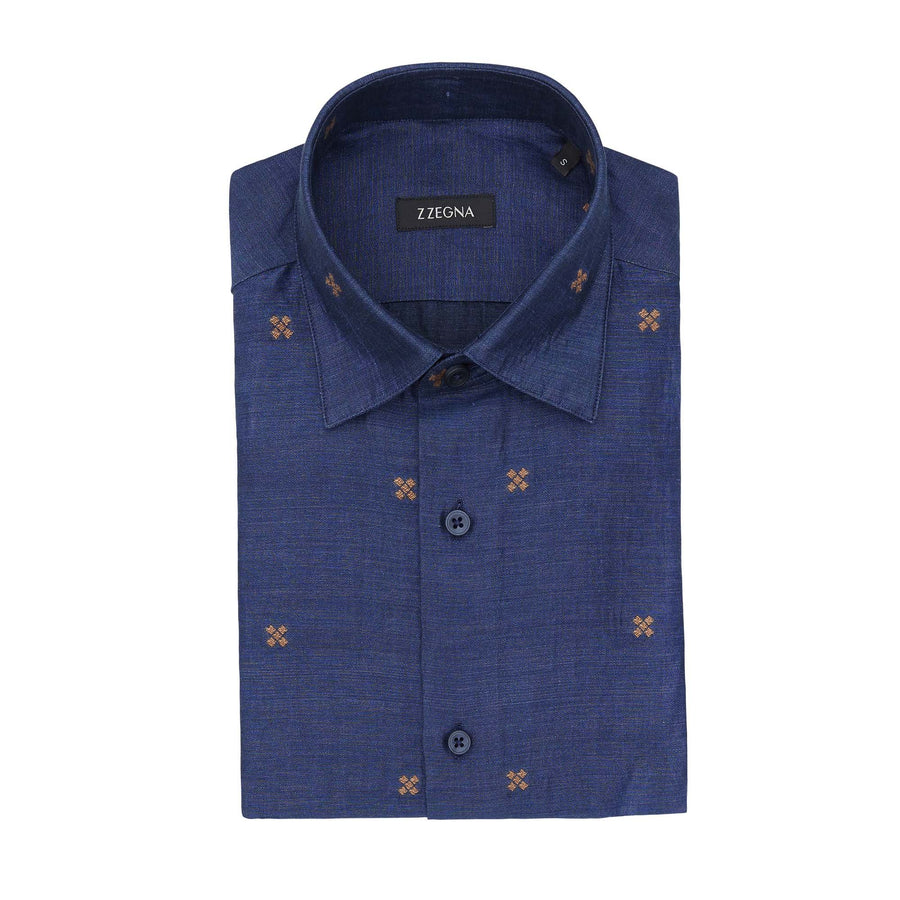 Z ZEGNA CROSS SHIRT