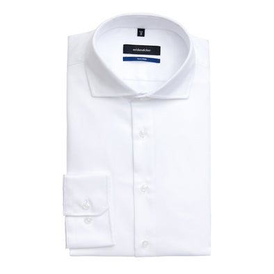 SEIDENSTICKER TAILORED WHITE SHIRT