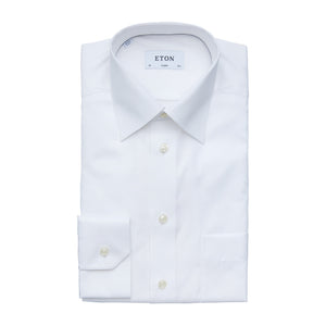 ETON HERRINGBONE TWILL SHIRT