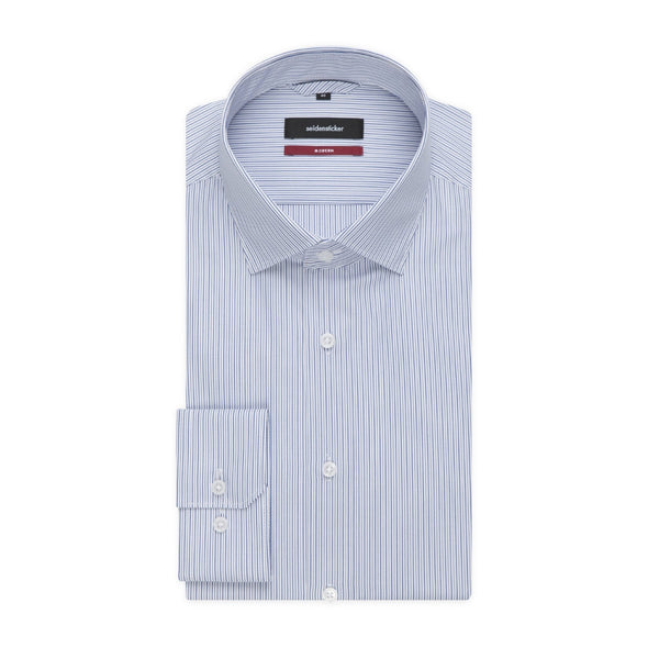 SEIDENSTICKER FINE STRIPE SHIRT