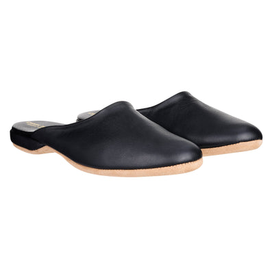 DEREK ROSE MORGAN CALFSKIN SLIPPERS