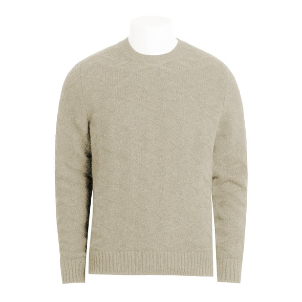 GRAN SASSO AIR WOOL CREW NECK KNIT